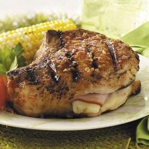 Cordon Bleu Pork Chops Recipe