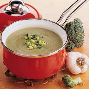 Quick Cream of Broccoli Soup Recipe
