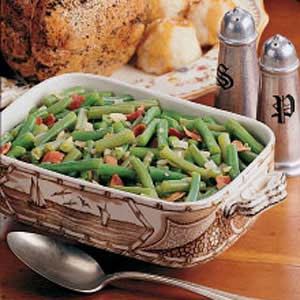 German-Style Green Beans Recipe