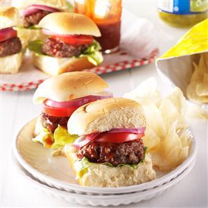 Barbecue Sliders Recipe