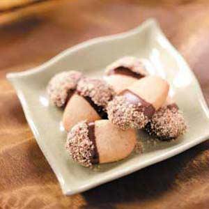 Chocolate Nut Acorns Recipe