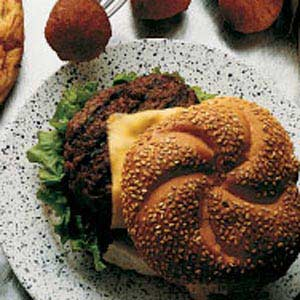 Tangy Barbecue Burgers Recipe