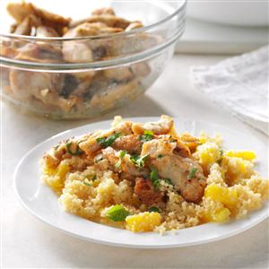Jamaican Chicken with Couscous Recipe