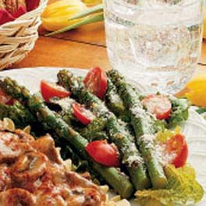 Tomato Asparagus Salad Recipe