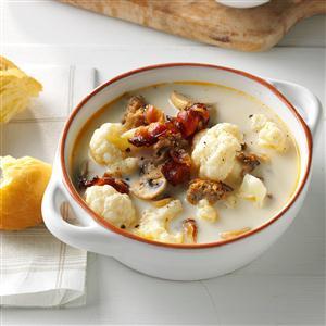 Tuscan Cauliflower Soup Recipe