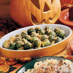 Crumb-Topped Brussels Sprouts