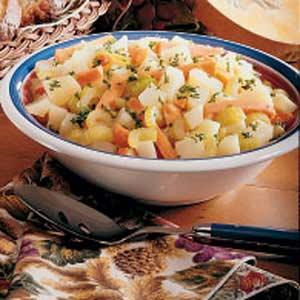 Mixed Vegetables Recipe
