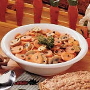 Carrot Mushroom Stir-Fry Recipe