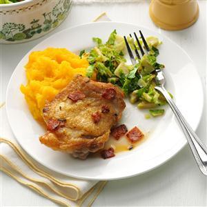 Rosemary-Lemon Chicken Thighs Recipe