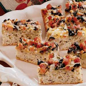 Savory Bread Strips Recipe
