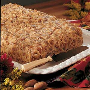 German Chocolate Birthday Cake Recipe Taste of Home