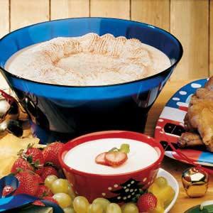 Creamy Holiday Eggnog
