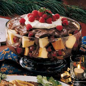 Raspberry Chocolate Trifle Recipe