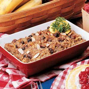 Sausage Granola Squares Recipe