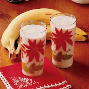 Banana Milk Drink Recipe