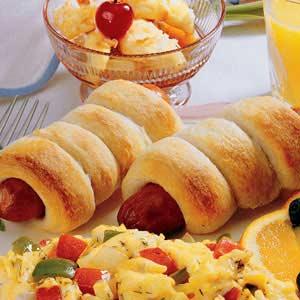 Sausage Breadsticks Recipe