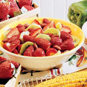 Strawberry Kiwi Dessert Recipe