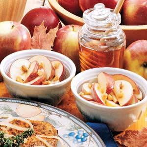 Honey-Nut Apples Recipe