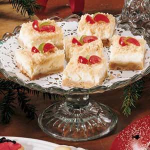 Holiday Cheesecake Bars Recipe