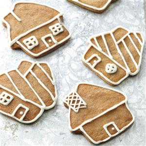 Gingerbread Cookies with Buttercream Icing Recipe