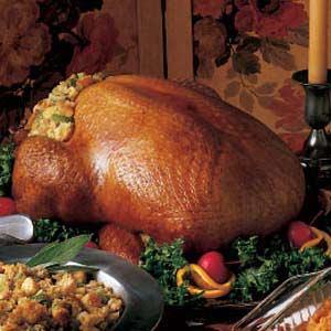 Turkey with Cornbread Dressing Recipe