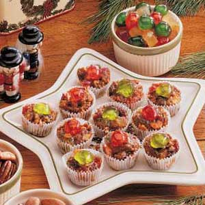 Bite-Size Fruitcakes Recipe