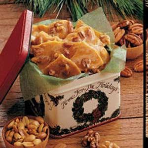 Four-Nut Brittle Recipe