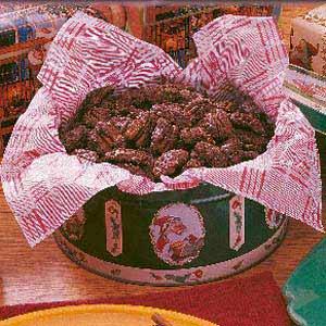 Sugar-Coated Pecans Recipe