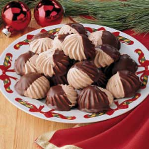 Chocolate Meringue Stars Recipe
