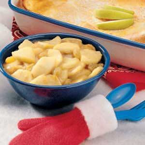 Sauteed Apples and Raisins Recipe