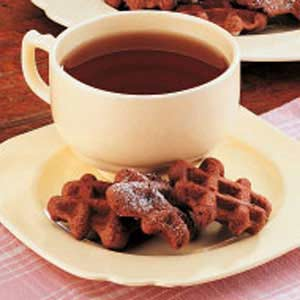 Chocolate Waffle Cookies Recipe