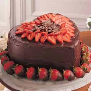 Victorian Strawberry Chocolate Cake Recipe Taste of Home