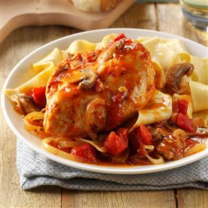 Contest winning chicken cacciatore recipe taste of home contest winning chicken cacciatore recipe forumfinder Images