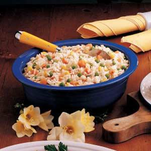 Rice Vegetable Medley Recipe