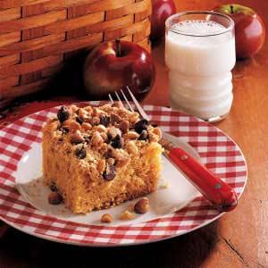Peanut Crunch Cake Recipe