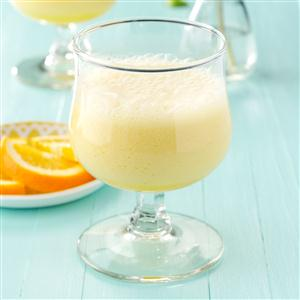 Frothy Orange Drink Recipe
