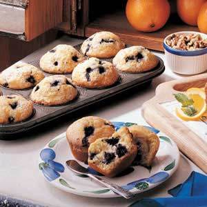 Frozen Blueberry Muffins Recipe