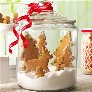 Gingerbread Snow Globe Recipe