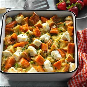 Smoked Salmon-Potato Brunch Bake Recipe