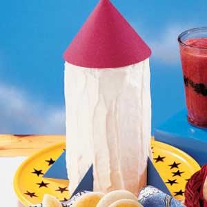Rocket Cake Recipe