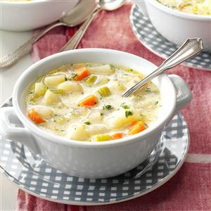 No-Fuss Potato Soup Recipe