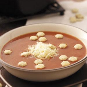 Zesty Tomato Soup Recipe