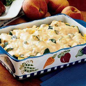Zucchini Corn Medley Recipe