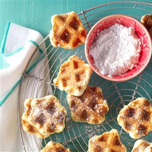 Dutch Waffle Cookies Recipe