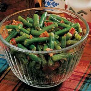 Savory String Beans Recipe