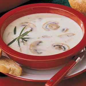 Favorite Marvelous Mushroom Soup Recipe