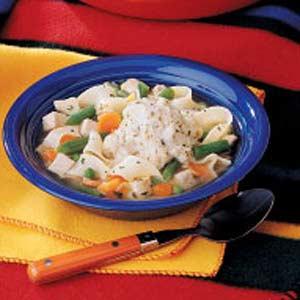 Chicken 'n' Dumpling Soup Recipe