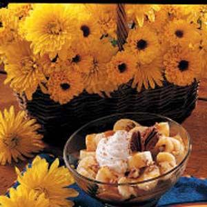 Caramel Banana Dessert Recipe