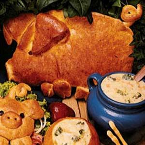 Crusty Pig Loaf Recipe