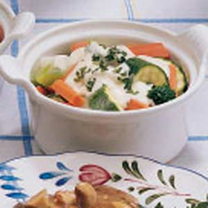 Vegetable Ramekins Recipe